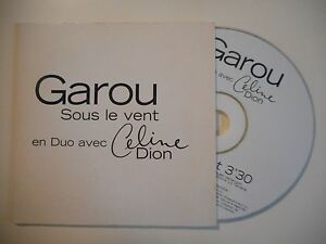 GAROU-feat-CELINE-DION-SOUS-LE-VENT-CD-SINGLE