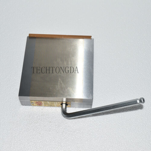 Fine Pole Permanent Magnetic Chuck 6*6 inch For Grinding Machine