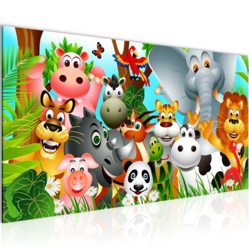 WANDBILDER XXL BILDER Kinderzimmer Tiere VLIES LEINWAND BILD KUNSTDRUCK 014612P