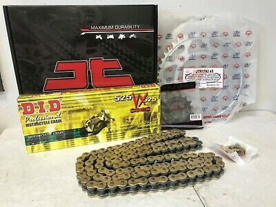 D.I.D Heavy Duty Chain and Sprocket Kit for GSX-R 600 2001-2005