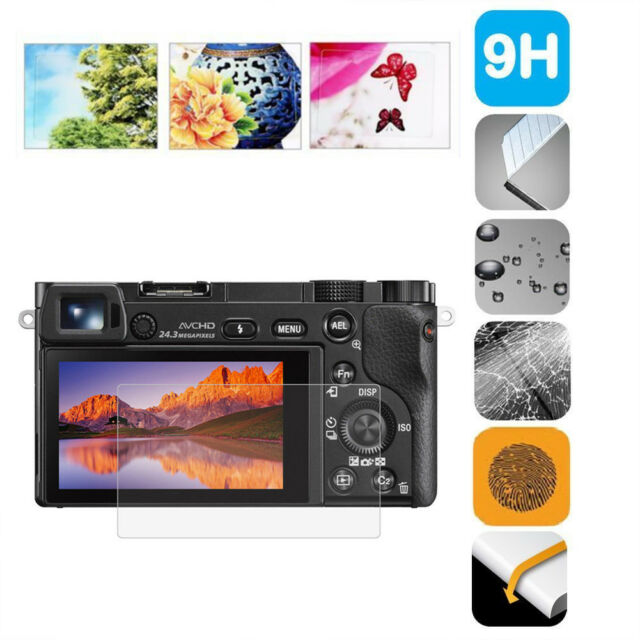 9H PRO Ultra Clear Temper Glass LCD Screen Guard Protector for Sony A9 ILCE-9