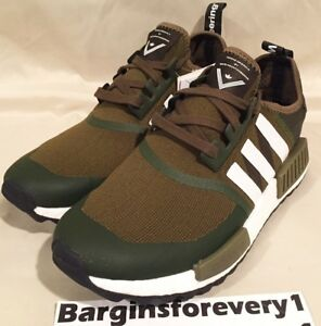 cd981dc3d472f Adidas x White Mountaineering NMD Trail PK - Size 9.5 - Olive White ...