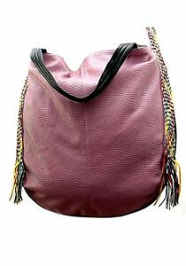 Image Is Loading Las Ruby London Large Leather Look Bag Per