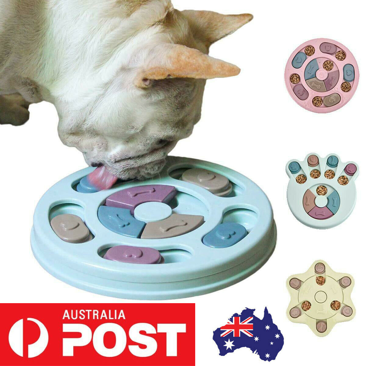 Jackson Galaxy Cat Go Fish Puzzle Game Toy Treat Food Bowl Feeder Entertainment For Sale Online Ebay
