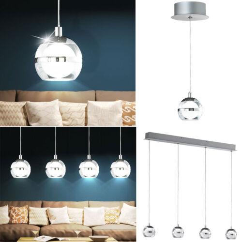 Design LED Hänge Leuchten Decken Strahler Arbeits Zimmer Kugel Pendel Lampen