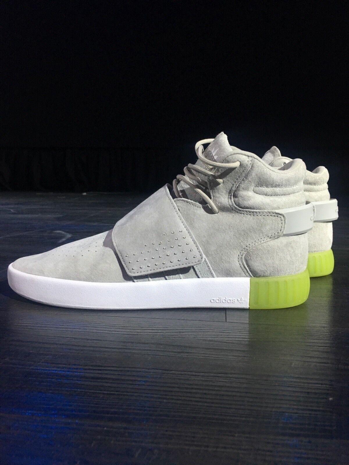 addidas Tubular Invader Strap, NEW,never worn, grey, size 10, tags still on