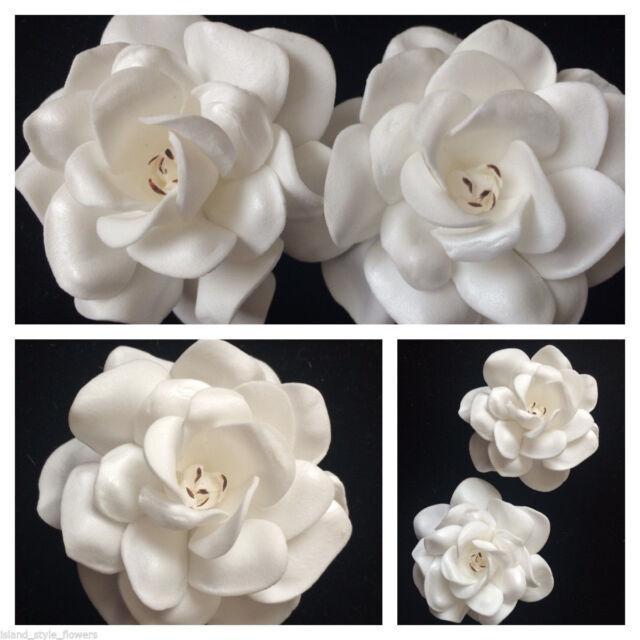 275 foam gardenia rose flower hair clip ivory white ebay 275 foam gardenia rose flower hair clip ivory white mightylinksfo