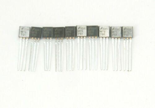 BJT Si PNP Transistor 10 pc Fairchild MPS751 Bipolar Transistors