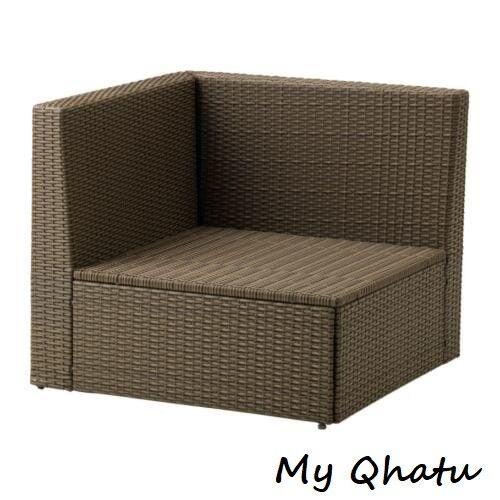 Ikea Arholma Corner Section Outdoor Brown 001 477 14 For Sale Online