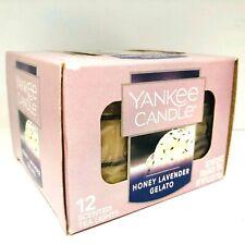 Yankee Candle Honey Lavender Gelato 12 Tea Lights