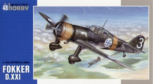 Special Hobby 1 48 Fokker D.XXI with Mercury engine