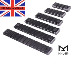 M-lok aluminum handguard Picatinny Weaver Rail 6 piece set UK seller UK stock
