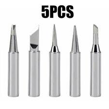 5PCS Soldering Iron Replacement Iron Tool Set Solder Tips HIgh Precision xian
