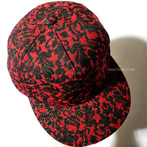Details about New Paisley Lace Pattern Hiphop Running Man Women Snapback Hat  Baseball Cap 01fd13f9b63