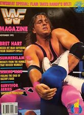 WWF Magazine November 1992 WWE Wrestling englisch Summerslam 92 Results
