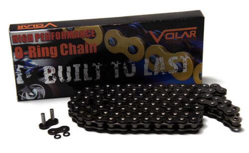 Volar O-Ring Chain Black for 1975-1976 Honda CB500T