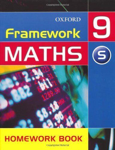 Framework Maths: Year 9: Support Homework Book: Support Homework Book Year 9 (F