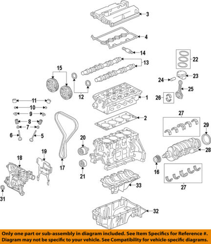 GM OEM-Valve Cover Gasket 55354237