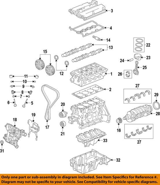 chevrolet gm oem 12 15 sonic engine timing camshaft gear 55568386 ebay rh ebay com chevy sonic 1.4 engine diagram 2014 chevy sonic engine diagram