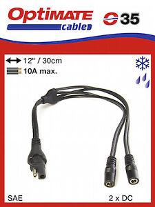 OptiMate SAE015 LEAD Y Splitter Lead UK Supplier /& Warranty NEW 015