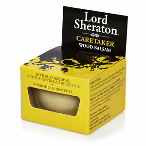 Wood Balsam 75ml Lord Sheraton Beeswax Linseed Oil