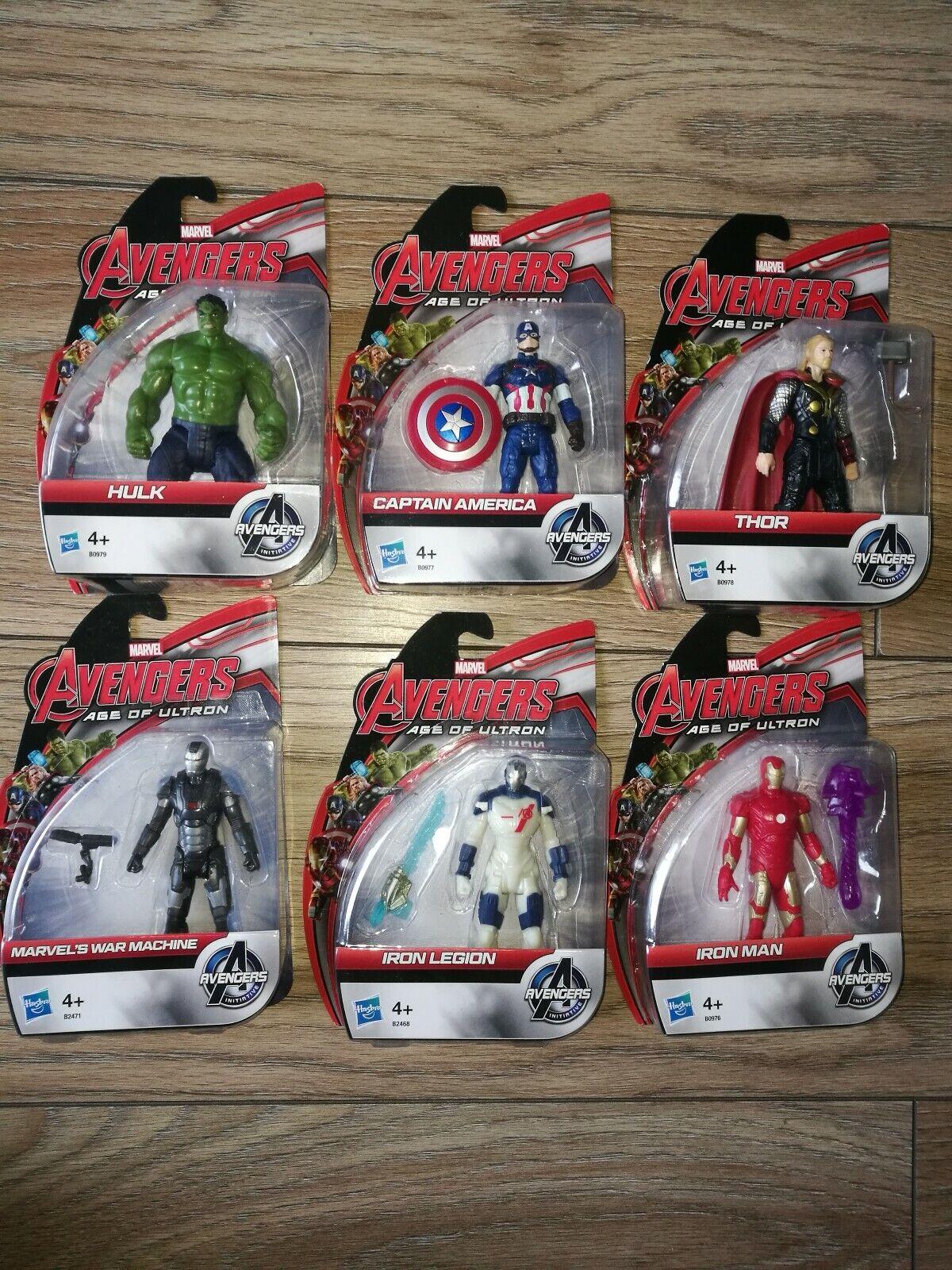 Avengers Captain America Hulk Iron menschen And More- Set 6 Figures