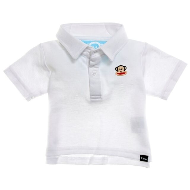 2dcde4c9f8b4 Paul Frank Classic Polo Shirt White Baby Boy s Size 24 Months for ...