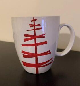Starbucks Christmas Coffee Mugs.Details About Starbucks Christmas Coffee Mug Cup White With Red Tree