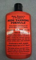 1 Deer Hunters & Trappers Hide Tanning Formula Tan Pelt Drying Fur Skin Trapping