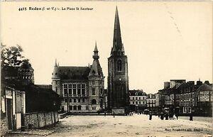 CPA Redon (I.-et-V.) - La Place St-Sauveur (357084) Motd7z9a-09161521-199105650