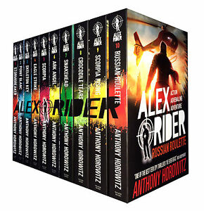 Alex-Rider-Collection-10-Books-Set-New-By-Anthony-Horowitz-Brand-New-paperback