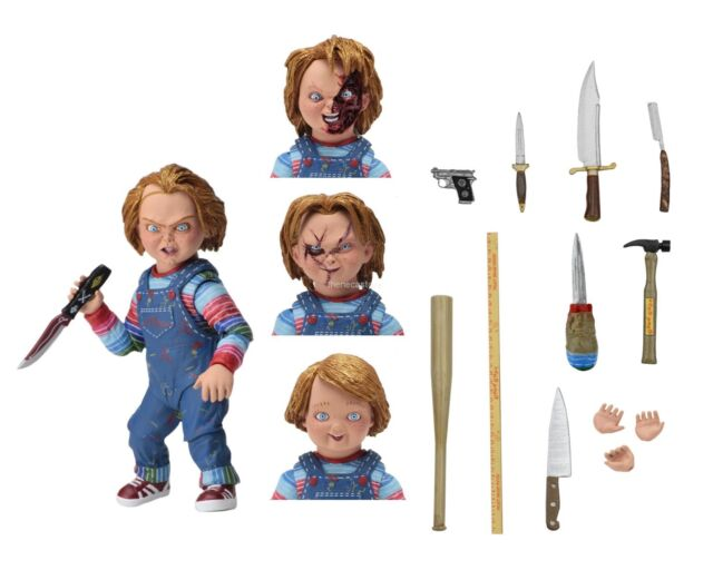 "Chucky - 7"" Scale Action Figure - Ultimate Chucky - NECA"