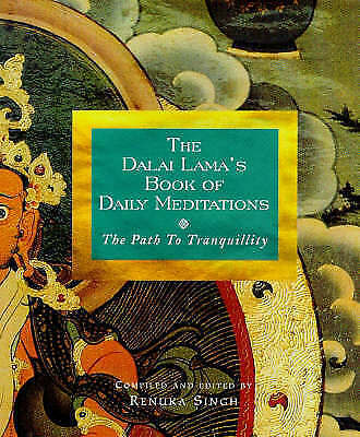 The Dalai Lama's Book Of Daily Meditations, Acceptable, Singh, Renuka, Book