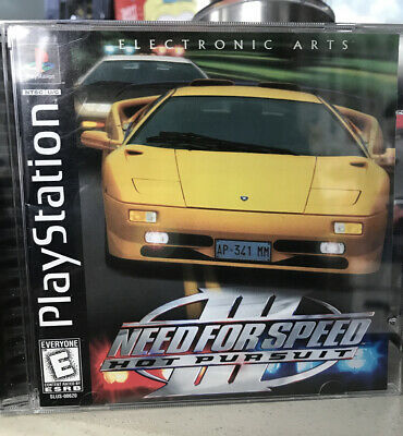 Need For Speed Iii Hot Pursuit Sony Playstation 1 Ps1 Complete