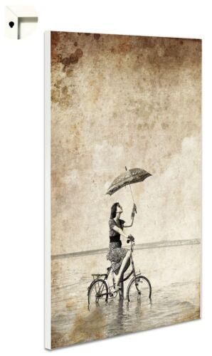 Magnettafel Pinnwand mit Motiv Vintage Retro Fahrrad Antik