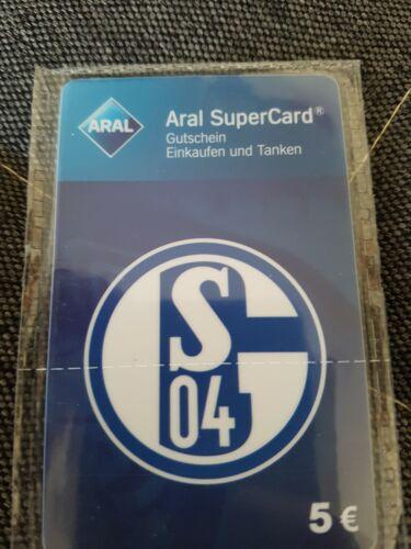 Aral SuperCard Logo Wappen Knappenkarte OHNE Guthaben