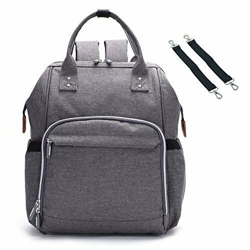 BISON DENIM Wrap Bag Great Ability Waterproof Diaper Bag Fashion Backpacks Baby