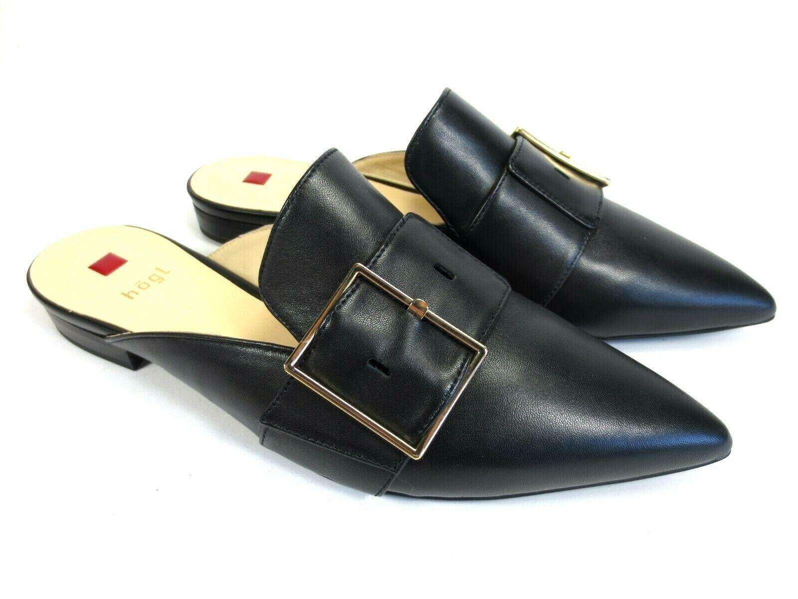 per il tuo stile di gioco ai prezzi più bassi Högl Scarpe in pelle sabots Mules zoccoli zoccoli zoccoli nero NUOVO UVP 129,95  80% di sconto
