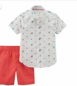 Carter/'s Baby Boys 2-PC Shirt /& Shorts Set Brand NEW Choose Size /& Color