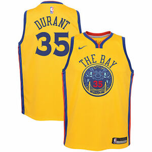 659f0cd28 Nike Golden State Warriors Curry or Durant Youth Swingman Jersey ...