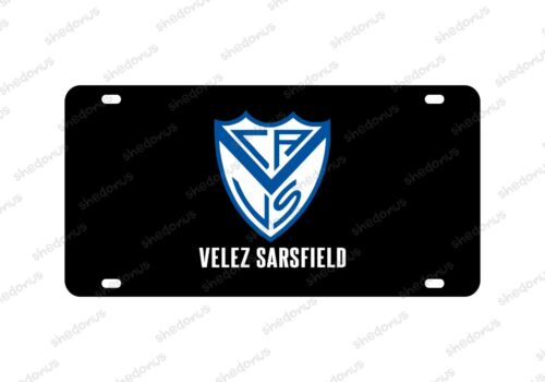 Velez Sarsfield License Plate Acrylic Argentina Futbol Campeon