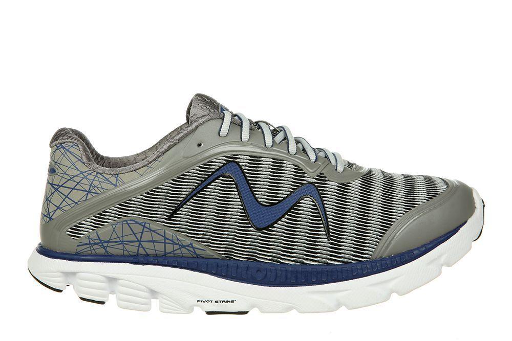 MBT - RACER 18 M  Men's Running Shoes  Gray/Navy