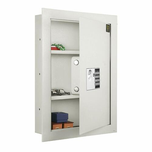 7700 Flat Electronic Wall Safe .83 CF for Large Jewelry Security-Paragon Lock