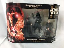 Darth V Hasbro Star Wars Commemorative Episode III Collection Emperor Palpatine