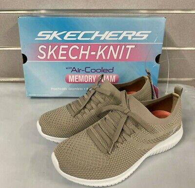 Skechers Ladies Ultra Flex Shoe Slip On