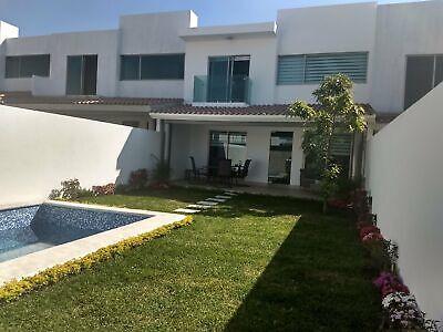Casas con alberca privada, acabados de lujo, 300m, caseta de vigilancia
