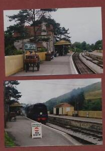 Corfe-Castle-Railway-Station-1996-amp-1992-photographs-ac-12