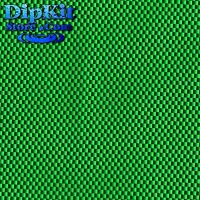 Hydrographics Dip Film Black W/ Green Base Carbon Fiber Dipping Pattern Cf152