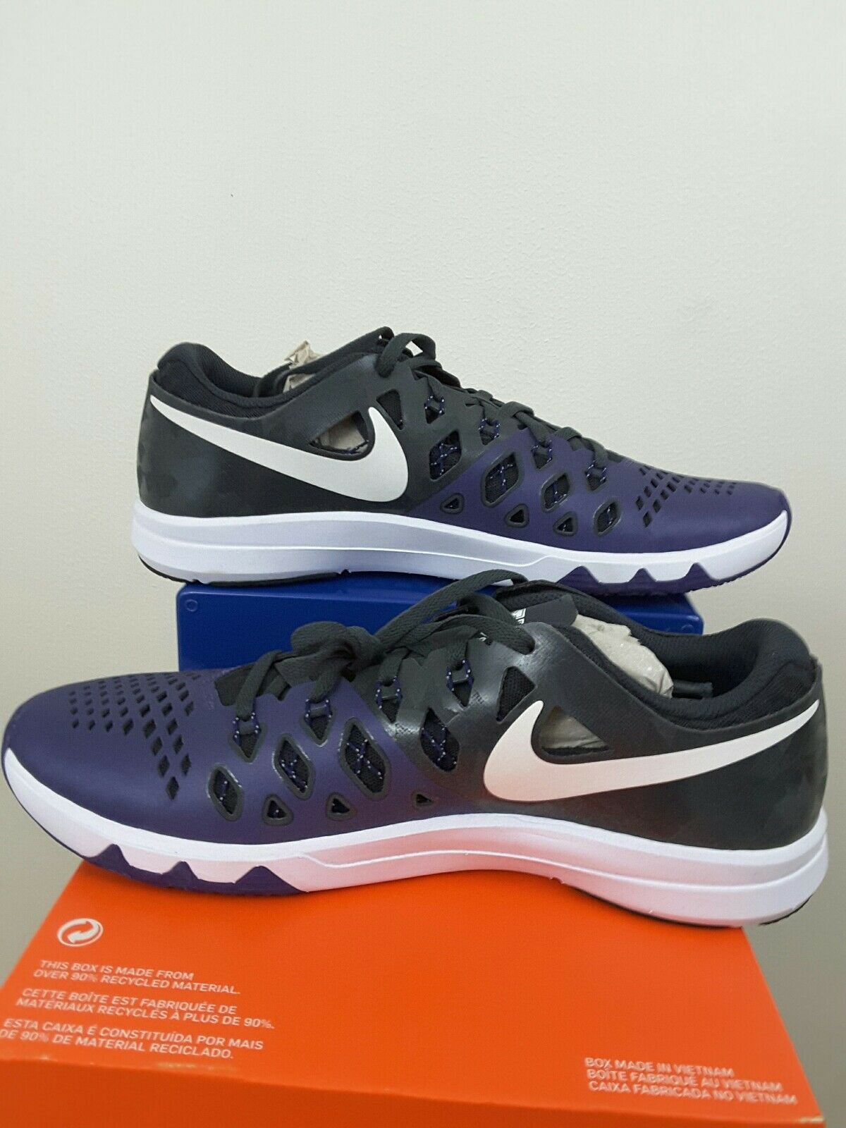 Nike Train Speed 4 homme AMP TCU Horned Frogs homme 4 chaussures 13 New  Violet 1c34cb
