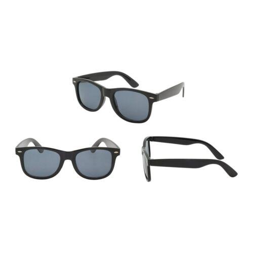 Wholesale Lot of 12 Spring Hinge Dark Lens Wayfare Square Sunglasses UV400 NEW